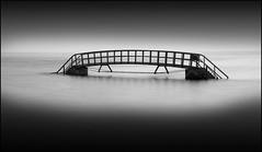 light and darkness (jeanny mueller) Tags: eastlothian dunbar scotland bridge unitedkingdom monochrom dark brcke schottland