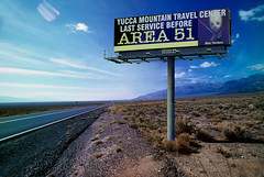 Area-51 Billboard, Nevada (Vern Krutein) Tags: travel usa southwest architecture highway desert space nevada ufo structure aliens american scifi sciencefiction universe cosmos futuristic scenics cosmology area51 csnd01093