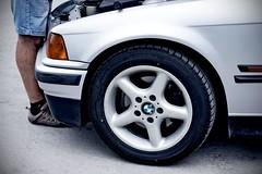 A Man and His BMW (violinivanov) Tags: varna bulgaria bmw e36 car sony a6000