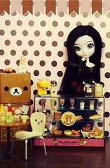 Rilakkuma Cafe ~ (Dekki) Tags: fashion asian doll cm planning chan nana groove refrigerator rement 27 showcase jun rilakkuma obitsu rewigged rechipped