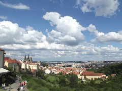 From above.. (Ms Kat) Tags: view prague praha praguecastle mrowrr