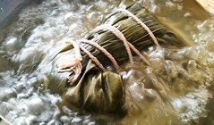 Zongzi in the boil. (Anaxit) Tags: food jong zong dragonboatfestival leavewrappedrice