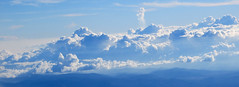 impressive clouds 4 (lisafree54) Tags: blue sky white nature clouds free cumulus cco freephotos