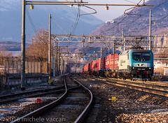EU43 001 (atropo8) Tags: italy train nikon merci zug cargo verona treno freight rtc veneto d810 domegliara brennerbahn railtractioncompany eu43001 winnerspedition
