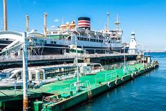 Boats at Yokohama Bay pier (Arutemu) Tags: city sea japan canon asian japanese asia cityscape ciudad  yokohama kanagawa japonesa  japon  japones  japonais          yokohamabay  japonaise  eos50d