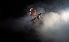 (Donald Palansky Photography) Tags: me guns silencer strobe strobist alienbees suitandtie offcameraflash sonyslta99v sigma50mmf14dghsmartlens