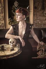 Red Morning (b.naissa) Tags: portrait beauty skull witch naturallight strasbourg odd mandragore naissab
