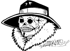 i sticker skull (marcomacedo3) Tags: cholowiz wizards graffiti characters stickers collabs slaps nazer26 mtsk skulls clowns street art paste trade cartoons labels sketch spray can