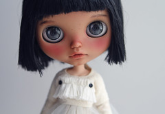 A new tan girl for myself (k07doll) Tags: cute bigeyes blythe custom cubby blythedoll rbl customblythe blythecustom k07 k07doll