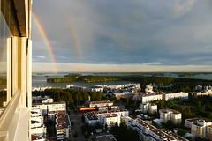 Rainbow (timo_w2s) Tags: summer finland rainbow helsinki cirrus vuosaari