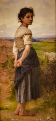 William Adolphe Bouguereau - The Young Shepherdess, 1885 at San Diego Museum of Art - San Diego CA (mbell1975) Tags: california ca usa art museum america painting french us san gallery museu unitedstates sandiego fine arts young diego william musée calif musee american museo muzeum bouguereau 1885 finearts the beaux beauxarts müze gallerie musum shepherdess adolphe
