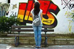 Torrero City (KARNATION) Tags: parque wall bench graffiti banco van paintedwall pignatelli torrero parquepignatelli karnation