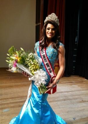 Candidata de Barretos ganha o Miss Gay São Paulo 2016