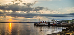 Three Vessels (Brian Travelling) Tags: threevessels three boats ships maritime pswaverley paddlesteamer harbour firthofclyde calmac caledonianmcbrayne largs ayrshire scotland pentaxkr pentax pentaxdal peaceful serene water landscape seascape
