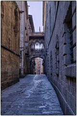 Barcelona Gothic Quarters (chabish123) Tags: barcelona fuji gothic quarters lightroom colorefexpro xpro2 hdrefexpro