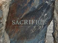 Sacrificial Stone (mikecogh) Tags: glenelg stone engraved sacrifice monument text