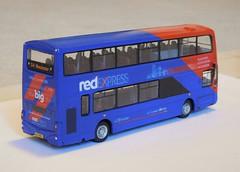 Transdev 3601 rear (Lancashire31) Tags: transdev 3601 x1 vtd bus double decker manchester accrington blackburn gemini 2 x41 red express wright volvo lancashire united blzaefield
