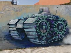 Graffiti / Street Art (paramonguino) Tags: p1100505jpg1 tenerife islascanarias canaryislands kanarischeinseln graffiti streetart 120716