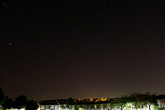 Night over Chopwell (Venvierra @ GothZILLA Photography) Tags: gothzillaphotography canon 600d canon600d eos canoneos canoneos600d stars starscape astrophotography night nightsky nighttime trees buildings lightpollution lights clear clearskies