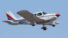 Piper PA-28-180 Cherokee 180 N8227W (ChrisK48) Tags: 1965 aircraft airplane cherokee180 dvt kdvt n8227w pa28 phoenixaz phoenixdeervalleyairport piperpa28180