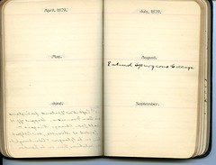 Diary of Robert Wallace p.10 (Community Archives of Belleville & Hastings County) Tags: 1880s 1890s 1900s 1910s 1920s diaries homechildren