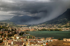 Storm is arriving...EXPLORE 26 - 8 - 16 (Alex Switzerland) Tags: storm temporale gewitter sturm tempesta lugano luganese switzerland summer estate 2016 canon eos 6d ticino