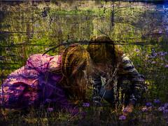 spring (greg westfall.) Tags: gregwestfallphotography gregwestfall girls cousins spring flowers friends texture