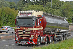 Mercedes BENZ - William Nicol Tankers  V17 WNT (john_mullin Thanks for 12 million views) Tags: scotland scottish british uk truck trucks trucking lorry lorries hgv commercials transport vehicle vehicles goods distribution freight haulage supply delivery logistics perth perthshire dundee tayside