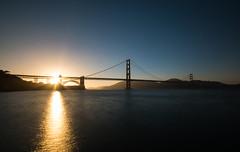 Golden Gate Bridge Sunset (ptoddy26) Tags: san francisco california bridge goldengate ndfilter 10stop sunset