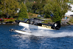 Private Aviat A-1C Husky N224GK (jbp274) Tags: 52b greenville greenvilleseaplaneflyin airplanes seaplane flyin mooseheadlake lake water aviat a1 husky