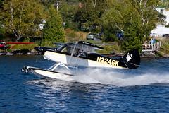 Private Aviat A-1C Husky N224GK (jbp274) Tags: 52b greenville greenvilleseaplaneflyin airplanes seaplane flyin mooseheadlake lake water aviat a1 husky
