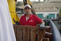 Serious work (bukovo) Tags: dignityi man work marinero sailor trabajo barco boat malta bezzinashipyad msf