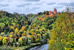 Turaida autumn - LATVIA (transfergoldenlinetour) Tags: transfergoldenlinetour country beautiful city europa world tour trip travel airport hotel love outlets best transfer vip taxi private drive turaida latvia airporttransfer privattaxi showplaces tourism russkoetaxi