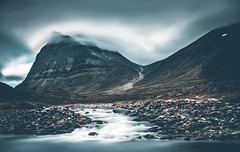 Kebnekaise 2 (PelG) Tags: a7rii sony mitakon mountain cloudy water nature outside outdoor rocks sweden