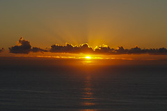 Pacific Sunrise (Rudy Chiarello) Tags: ocean sea sky sun clouds sunrise australia pacificocean pacificcoast downunder surfersparadise chiarello goldcoast rudychiarello