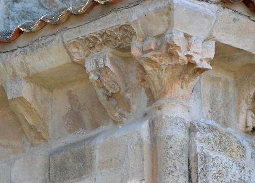 Madroña (Castille et Léon), Virgen de la Cerca - sculpture romane - 03