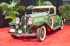 1931 Studebaker President Four Seasons Roadster - SF Auto Show (BlueVoter - thanks for 1.4M views) Tags: auto car classiccar automobile autoshow carro
