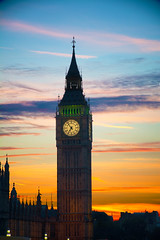 Big Ben (peter.filsinger) Tags: autumn sunset london big sonnenuntergang ben herbst