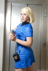 Carol Marcus (SandroSebastiani) Tags: startrek cosplay cosplayer trekker romics carolmarcus romicsottobre2014 intodarknessstartrek