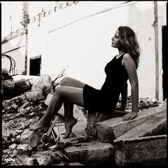 * (www.rasmusrantil.com) Tags: blackandwhite bw abandoned 6x6 film girl monochrome beauty mediumformat blackwhite fuji shanghai availablelight naturallight hasselblad acros 80mm 500cm blancetnoir fujineopanacros100 monochromia