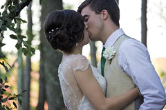 (Morgan Cottle) Tags: wedding groom bride kiss marriage firstkiss
