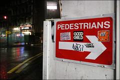 Nylon (Alex Ellison) Tags: urban graffiti sticker boobs graff centrallondon vinnienylon
