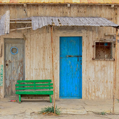 Poblado de Salinas (trebol_a) Tags: almeria sitios cabodegata portada cabaa chabola