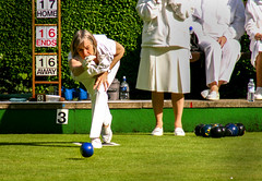 Having their ends away! (fatboydon) Tags: uk summer people grass sport britain lawn whites bowls active