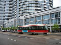 TTC 4129 17052008 (Rossendalian2013) Tags: toronto ttc tram streetcar bombardier torontotransitcommission clrv canadianlightrailvehicle urbantransportdevelopmentcorporation