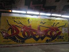 robbo (RackTidy') Tags: king rip kingrobbo graffitienglandukbrightonhovegraffcrewincrobbotunnelleakeleakestreet