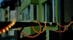 Balcony (Turikan) Tags: macro dawn fuji minolta bokeh balcony mc 400 dortmund x300 lichterkette exakta 3570mm
