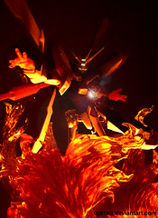 God Gundam (opt1cs) Tags: mobile robot fighter god g spirits burning gundam nations bandai damashii tamashii