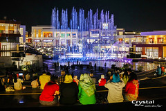 Cairo Festival City - Ne Cairo, Egypt - Photo by Michele D'Ottavio Photographer (Crystal Fountains) Tags: show lighting city water fountain festival modern shopping theater jets egypt musical cairo leds waterfeature development mixeduse sequencing