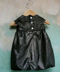 Bubble dress button love